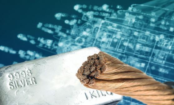 3 acciones de materias primas ante la subida del cobre, el grano y la madera